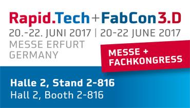Rapid.Tech + FabCon 3.D 2017