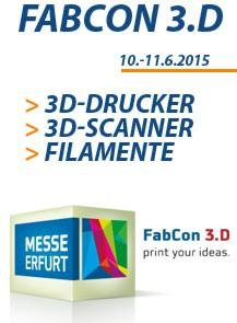 Messe Fabcon 3.D in Erfurt